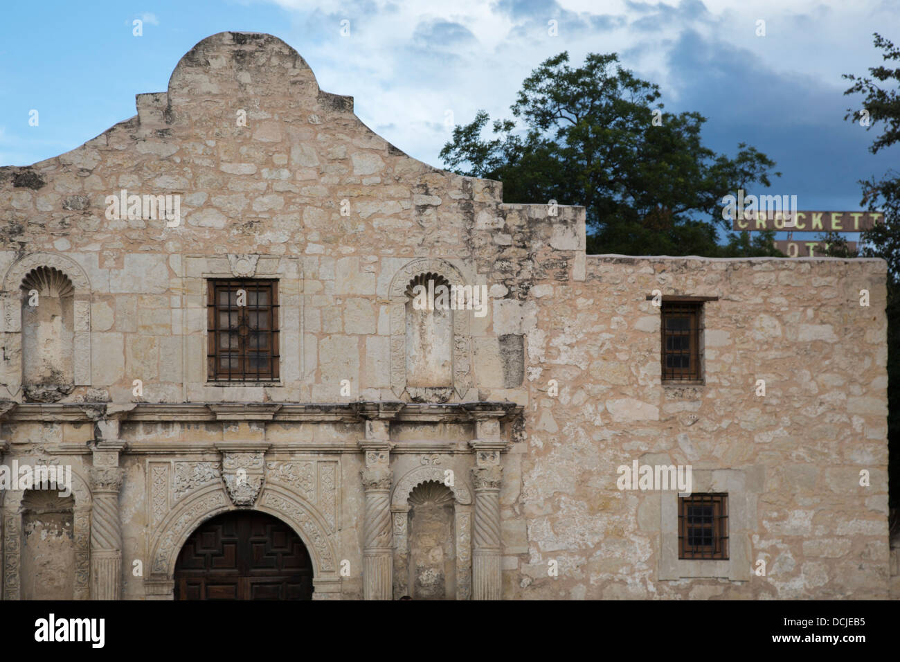 The Alamo - Stock Image