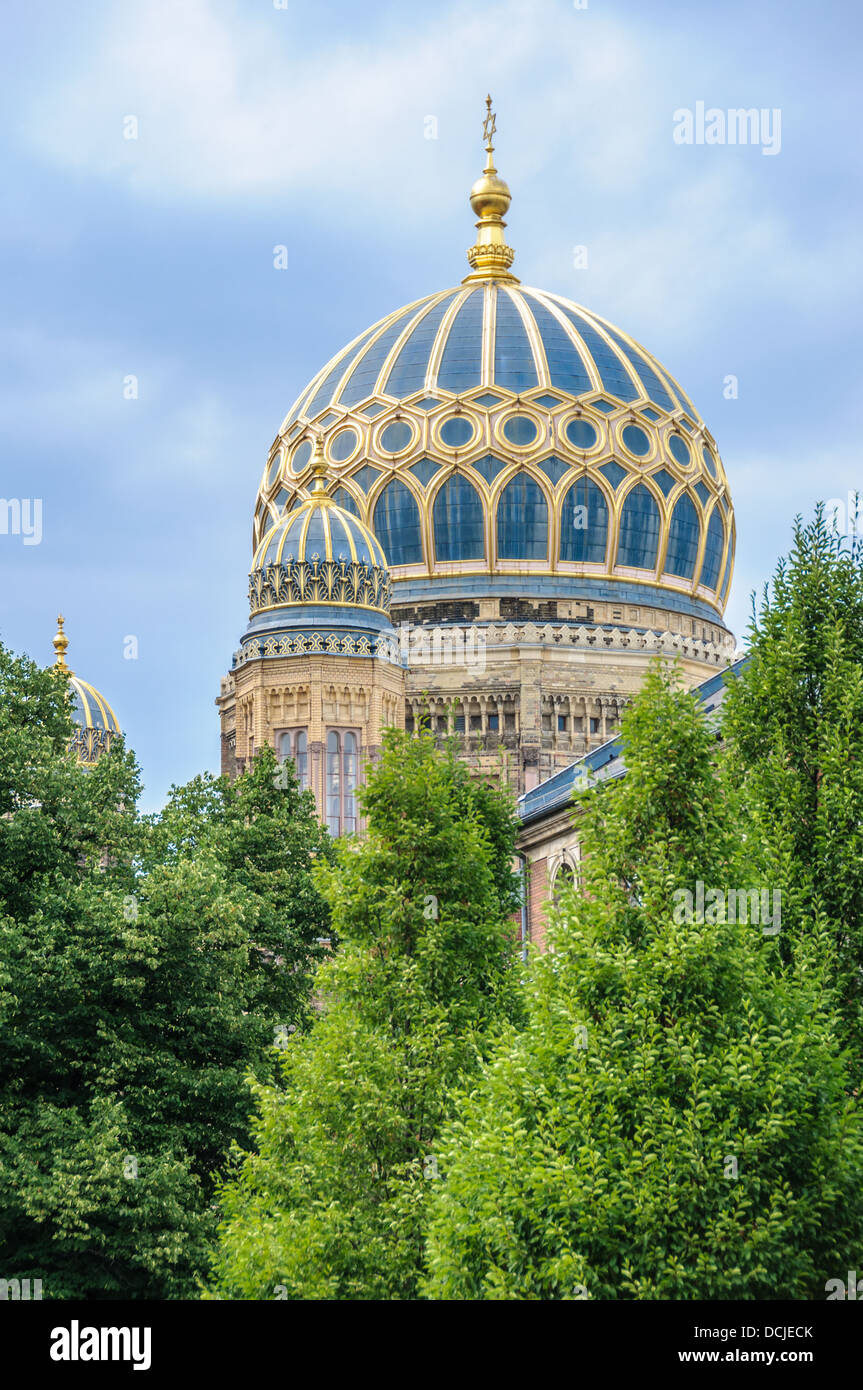 Neue Synagoge - New Synagogue - Berlin Germany Stock Photo