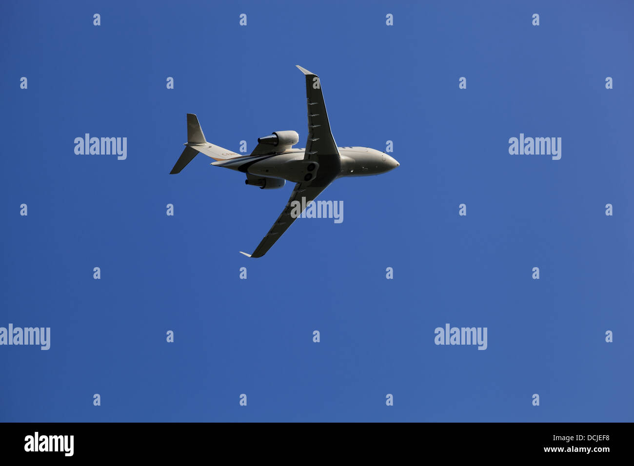 Canadair CL-600-2B16 Challenger 601-3A, C-FJNS, Skyservice Aviation taking off from Ottawa International Airport, - Stock Image