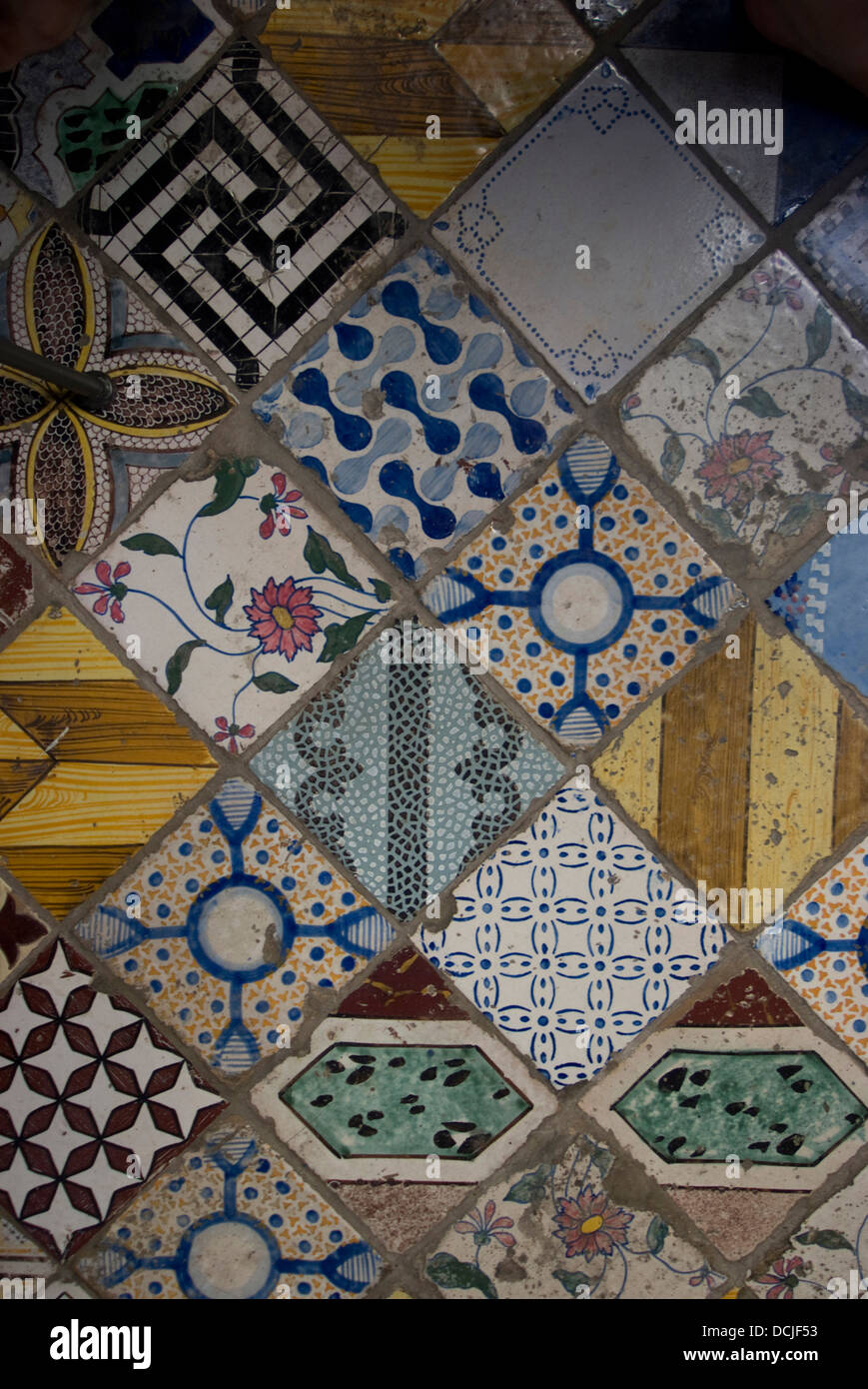 Italian Floor Tiles Stock Photos & Italian Floor Tiles Stock Images ...