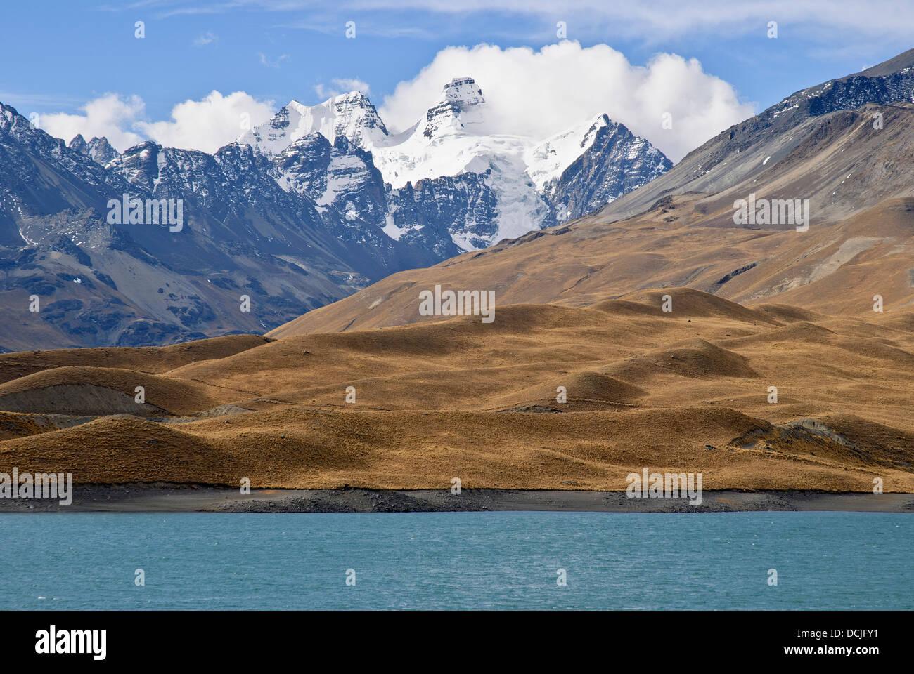 Mount Condoriri - Stock Image