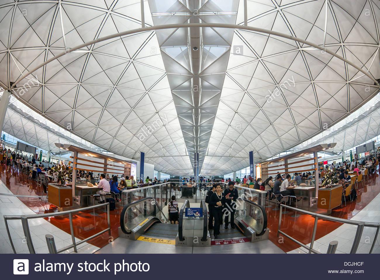 Hong Kong international airport - Stock Image