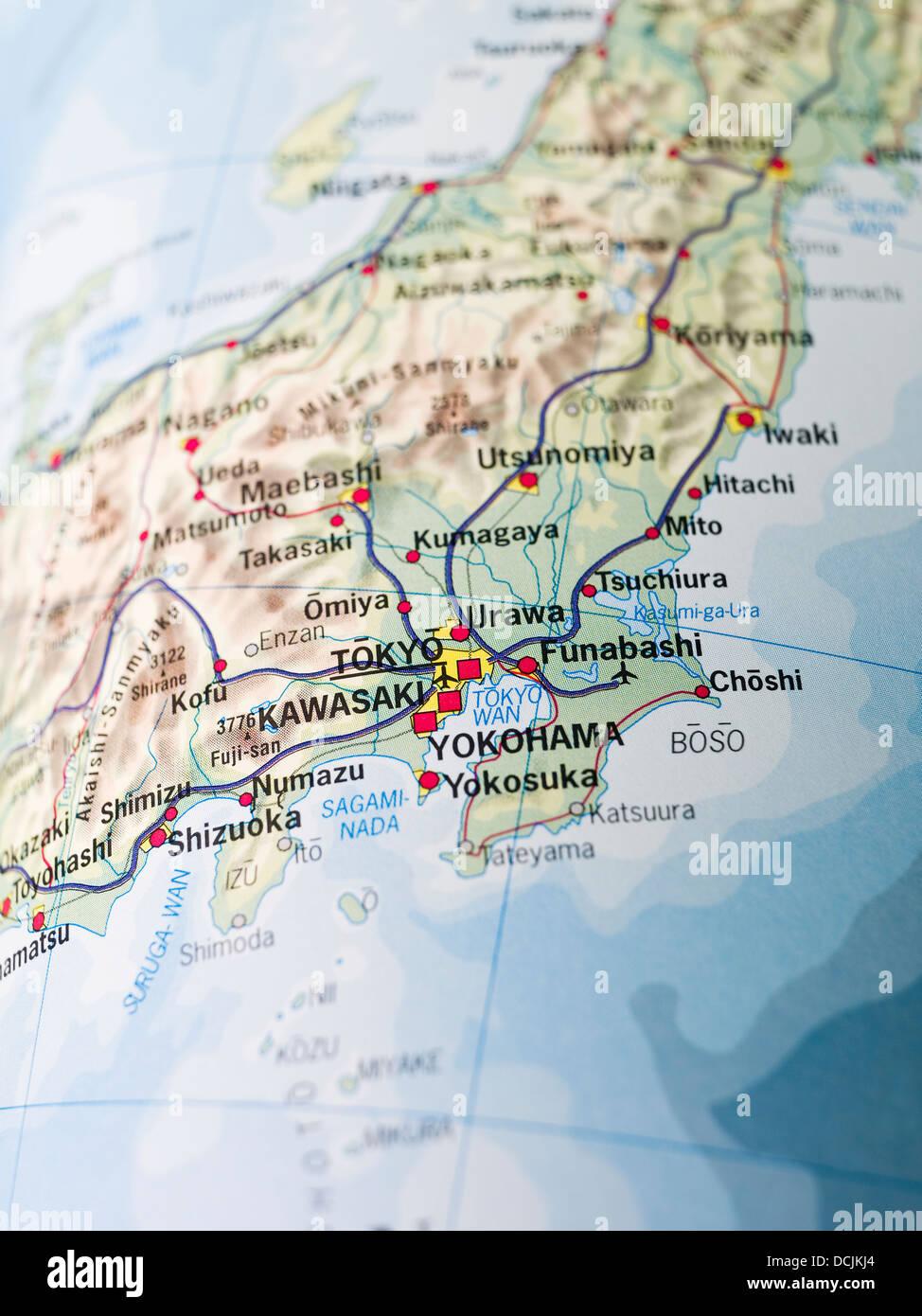 Tokyo City Map Stock Photos Tokyo City Map Stock Images Alamy