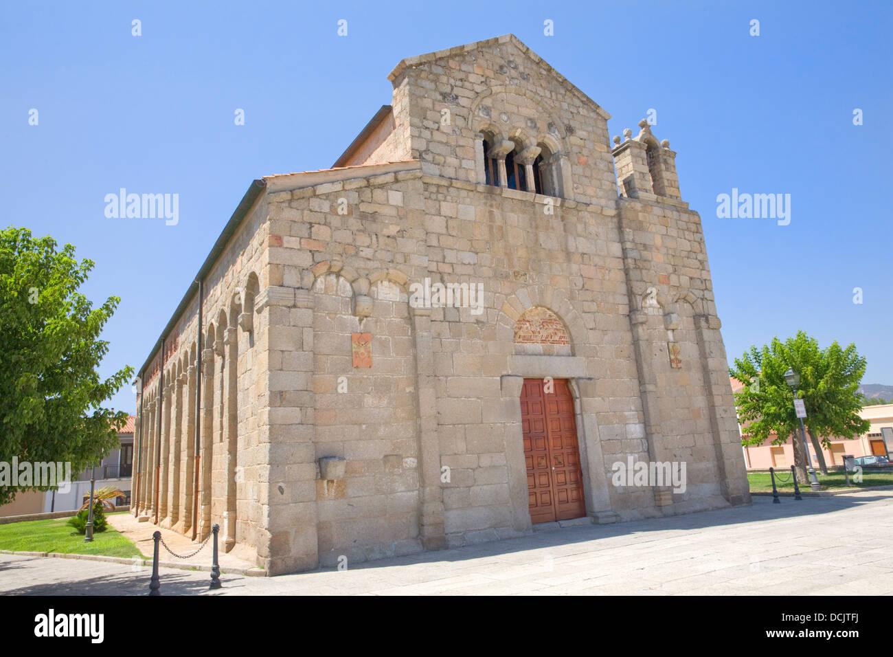 Chiesa di San Simplicio, Olbia, Sardinia, Italy - Stock Image