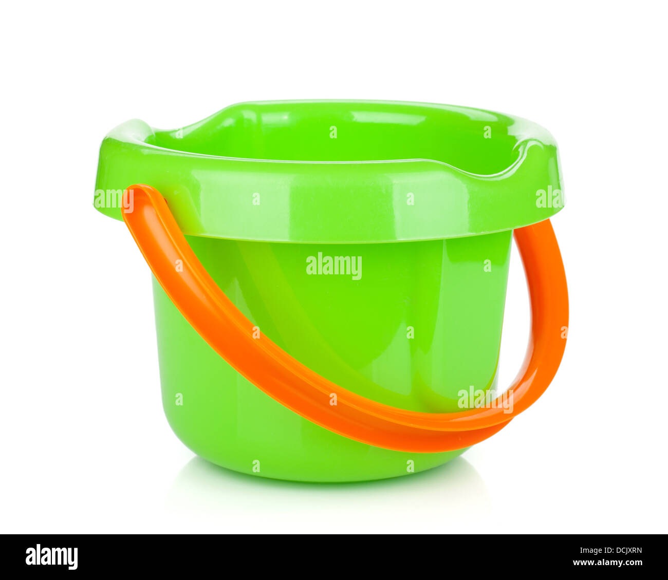 d9793307774bb5 Baby beach sand bucket. Isolated on white background Stock Photo ...
