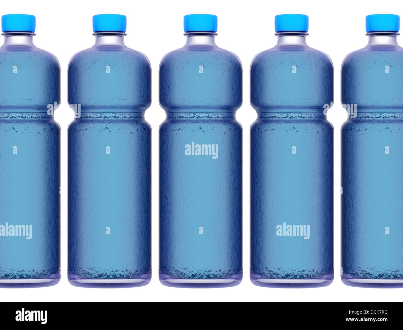 bottle of water - Stock Image