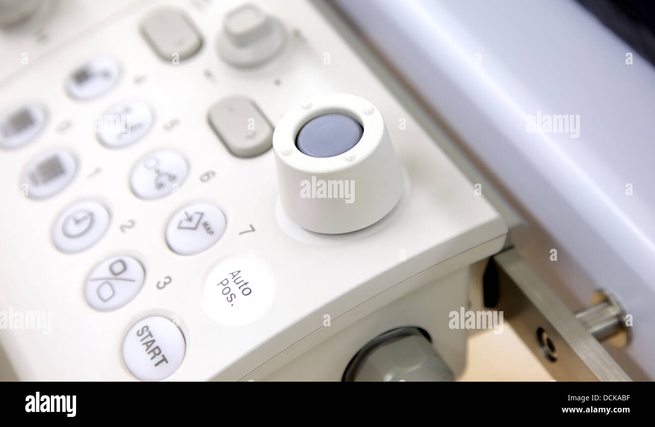 controls x-ray - Stock Image