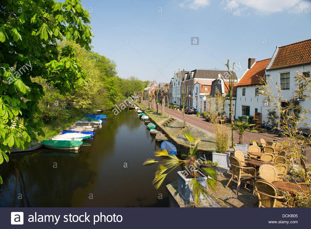 Dutch village Naarden - Stock Image