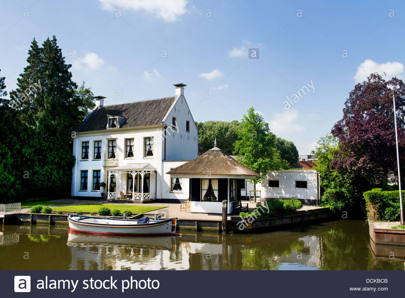 Old Villa in Holland Stock Photo