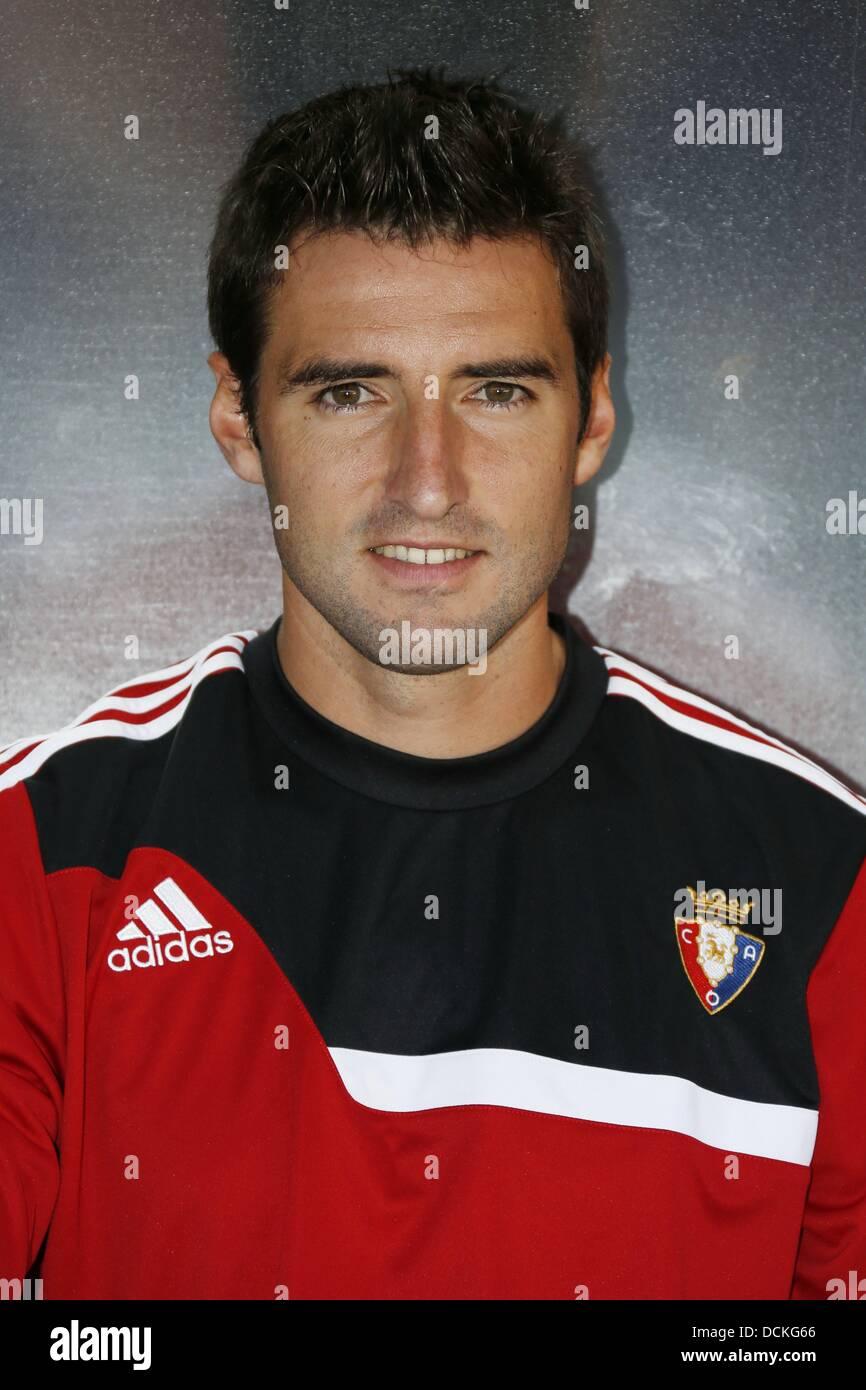 Marc Bertran (Osasuna), AUGUST 10, 2013 - Football / Soccer : Pre season match between Osasuna and Valladolid, at - Stock Image