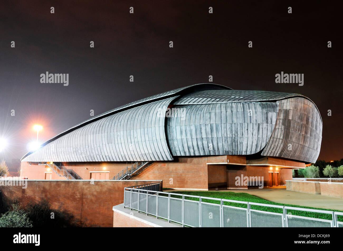 Parco Della Musica, Rome, Italy. Architect: Renzo Piano, 2002. Stock Photo