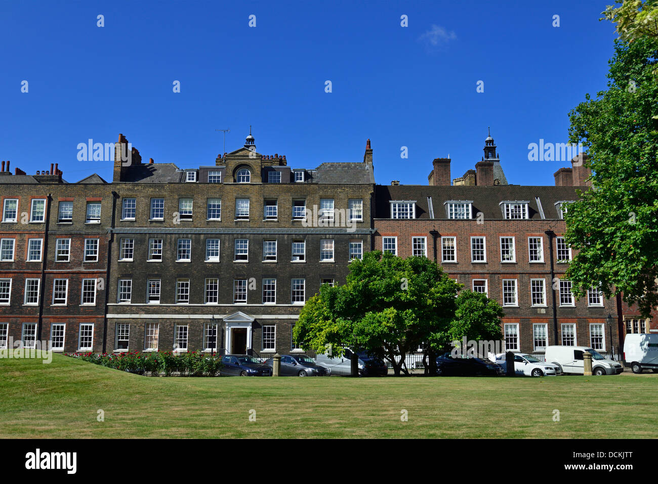 New Square, Lincoln's Inn, Borough of Holborn, London WC2, United Kingdom - Stock Image