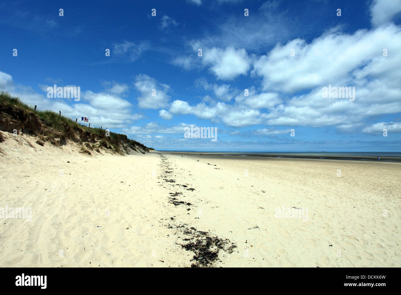 Utah Beach today, Operation Overlord, Normandy, France. D-Day Stock Photo