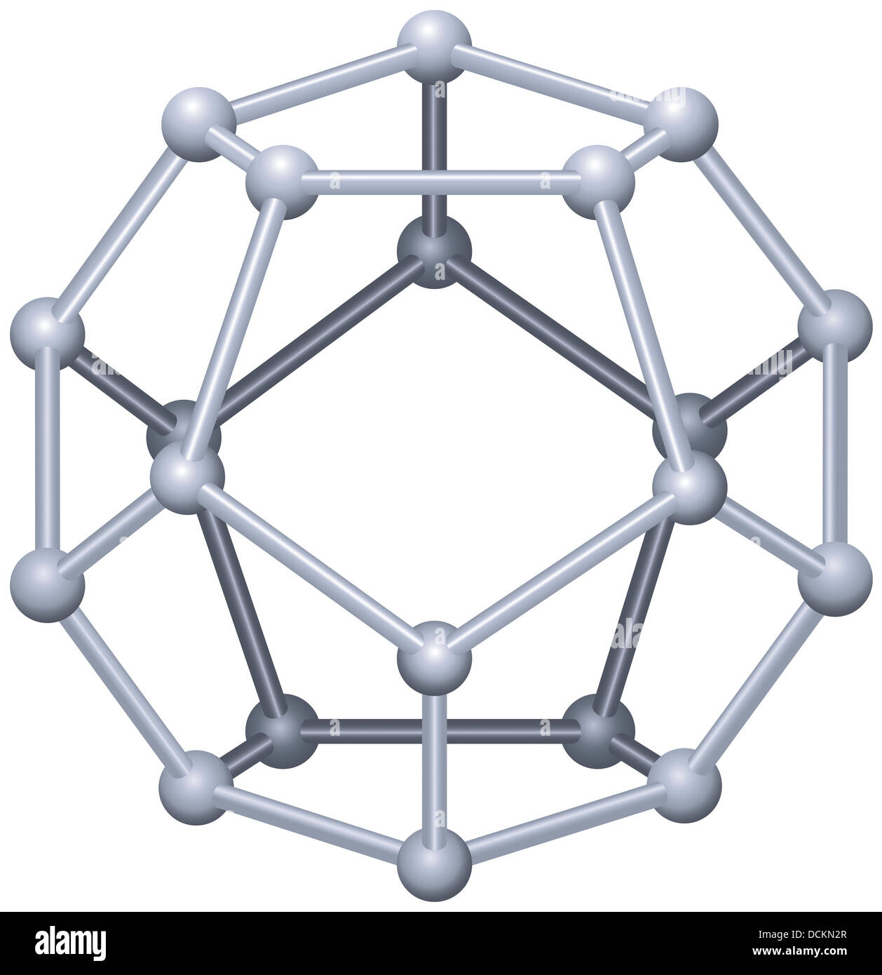 Dodecahedron - Platonic Solid Stock Photo: 59440607 - Alamy