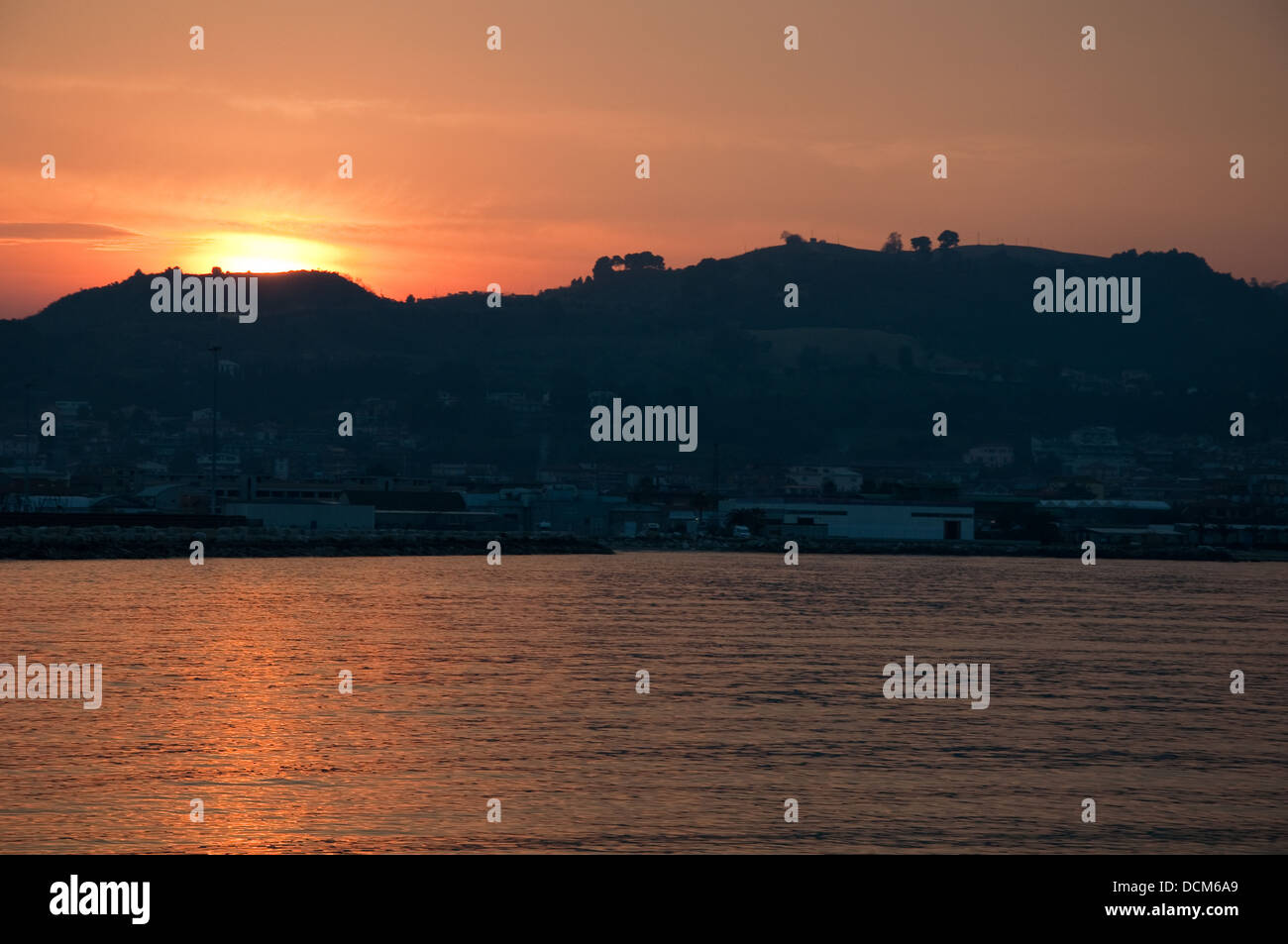 Tramonto Sunset Stock Photos Tramonto Sunset Stock Images