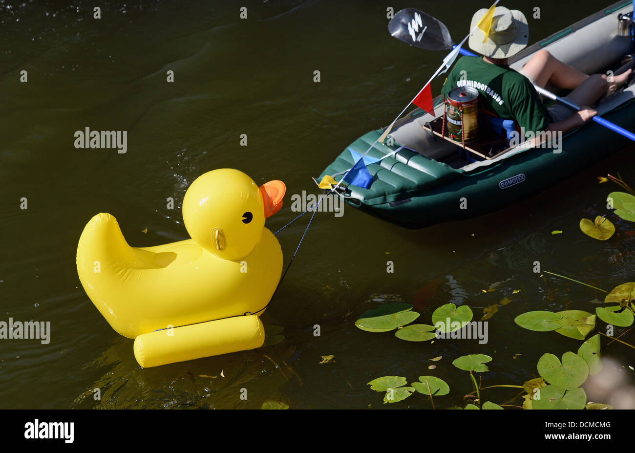 Rubber Duck Race Germany Stock Photos & Rubber Duck Race Germany ...