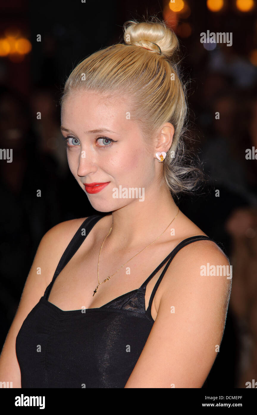 Lily Loveless The BFI London Film Festival - Sket - Premiere held at the Vue West End - Arrivals London, England - Stock Image
