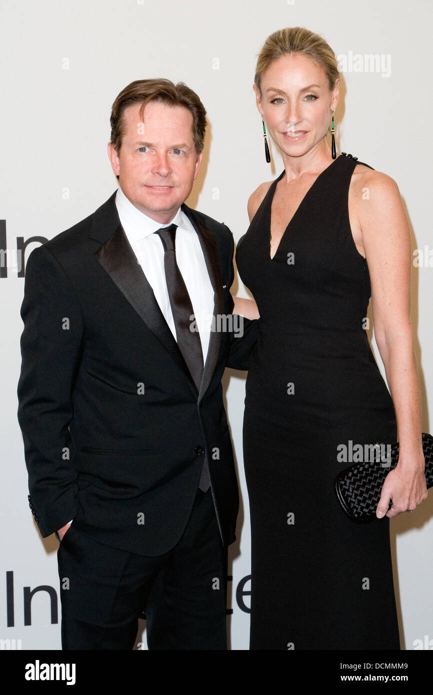 e490065cbe Michael J. Fox and Tracy Pollan Lincoln Center presents: An Evening with Ralph  Lauren hosted by Oprah Winfrey at Alice Tully Hall New York City, ...