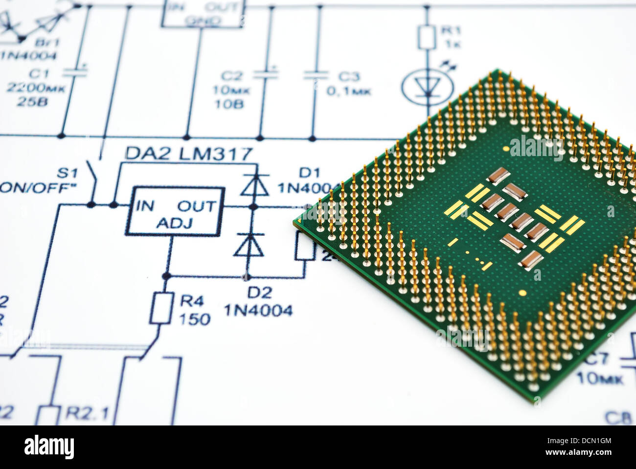 Cpu Plug Wiring Diagram Library And Stock Image