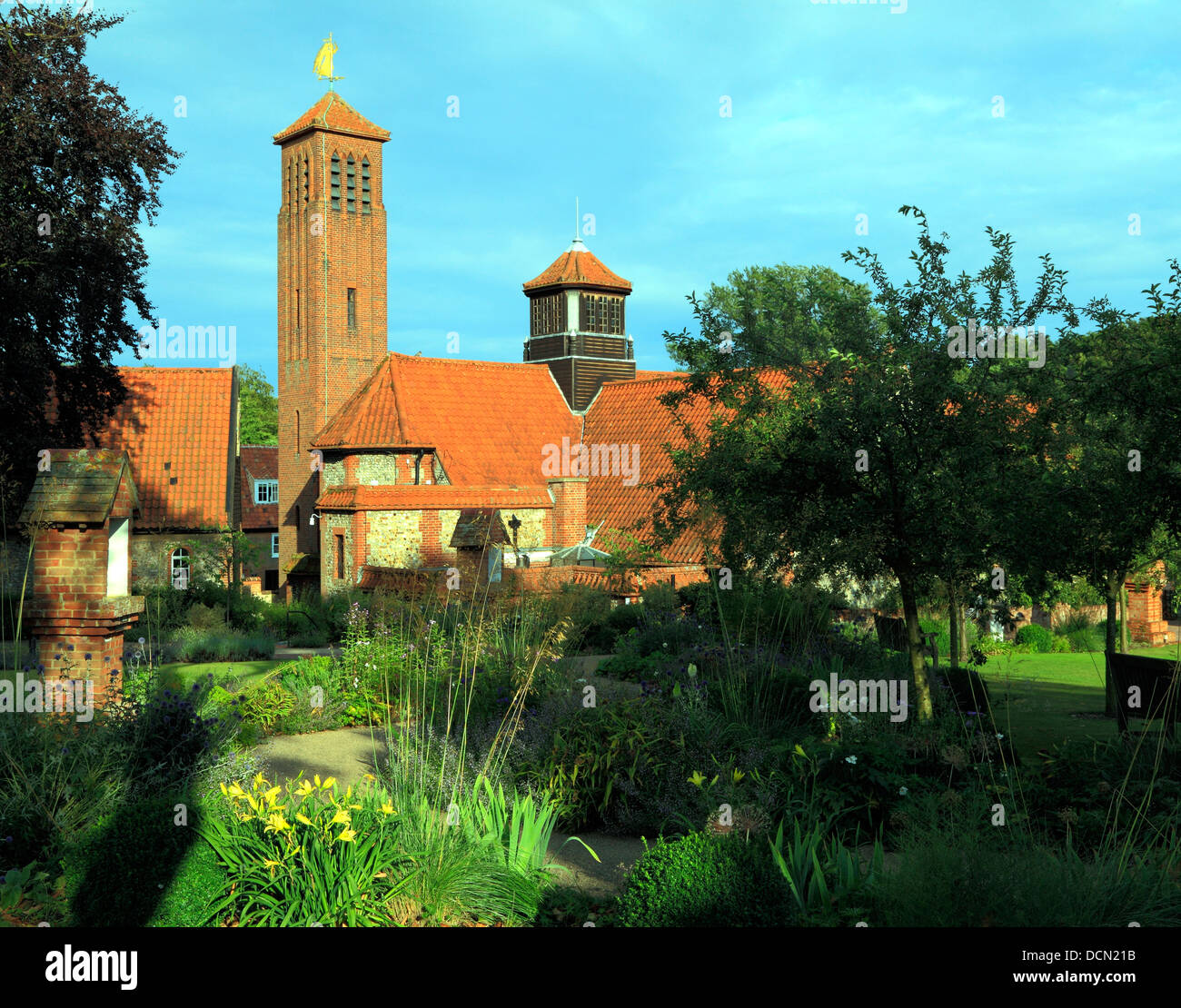 Shrine of Our Lady of Walsingham, Anglican church, 20th century, Norfolk, England, UK, modern English churches - Stock Image