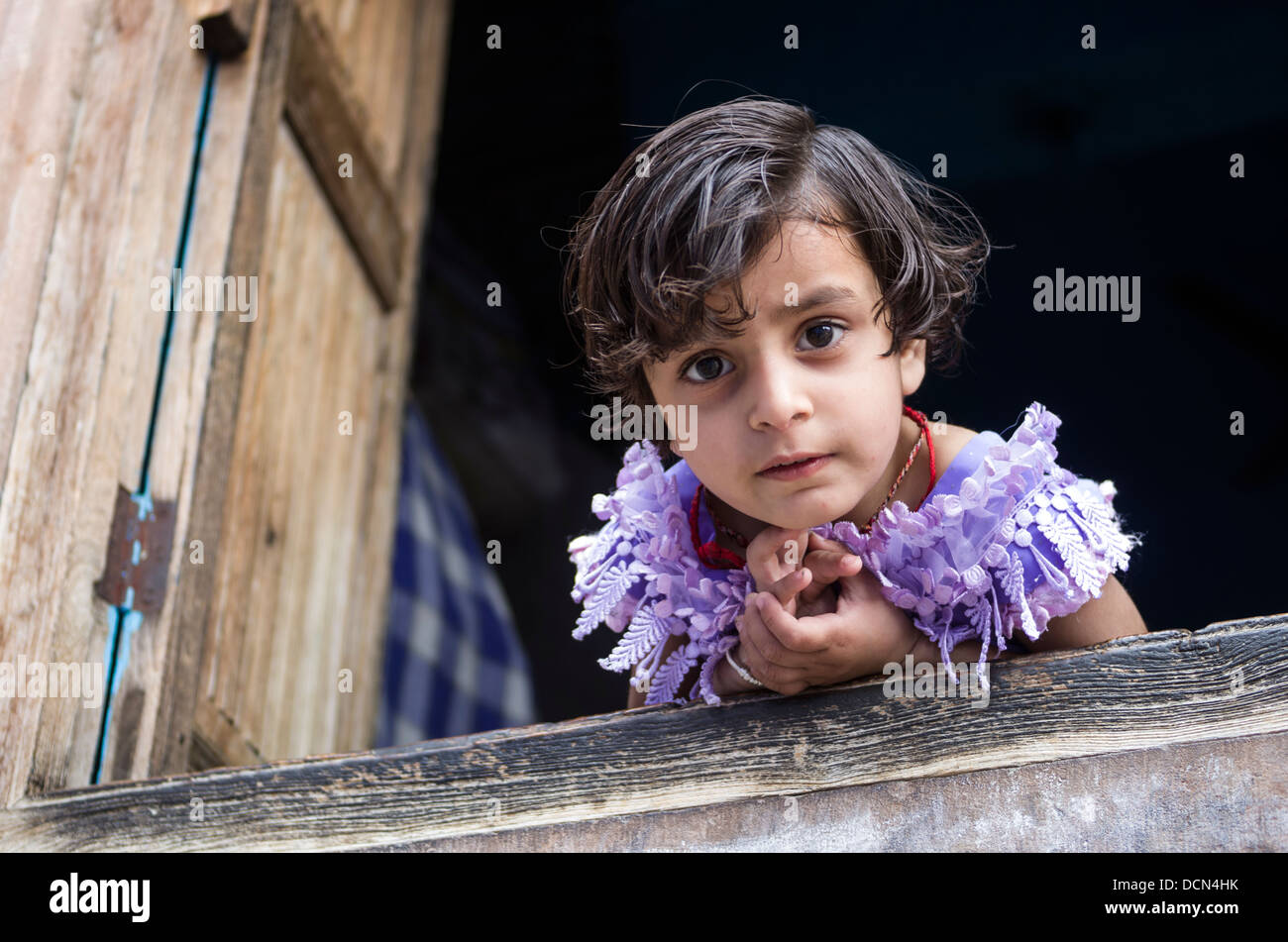 Indian Child  - Jodhpur, Rajashtan, India - Stock Image
