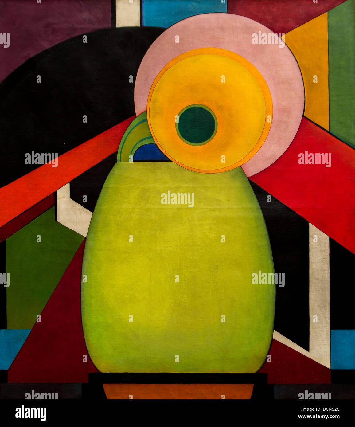 20th century  -  The sunflower - Edward Steichen (1920) Philippe Sauvan-Magnet / Active Museum - Stock Image