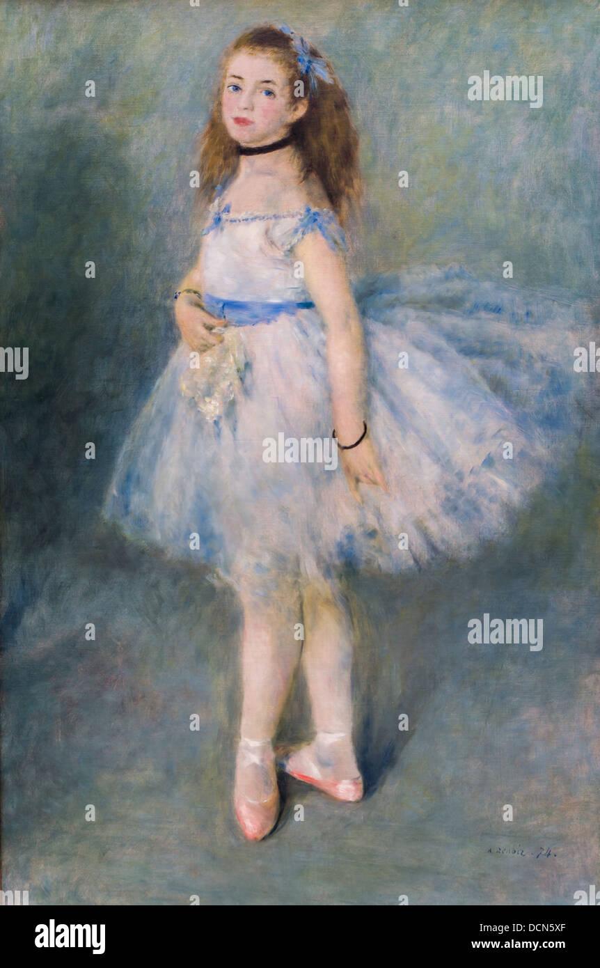 19th century  -  The dancer - Auguste Renoir (1874) Philippe Sauvan-Magnet / Active Museum - Stock Image
