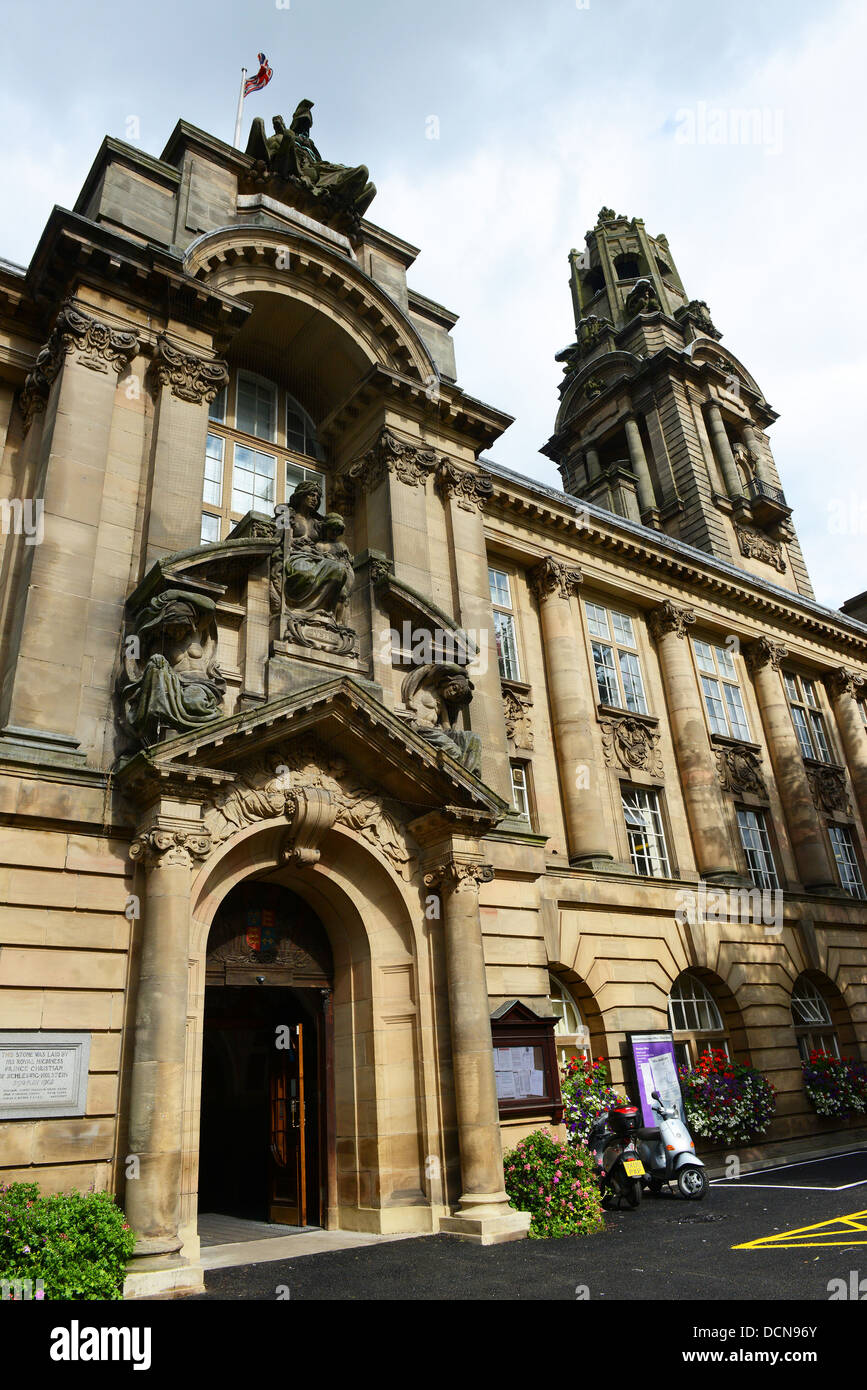 Walsall Town Hall in West Midlands Uk - Stock Image