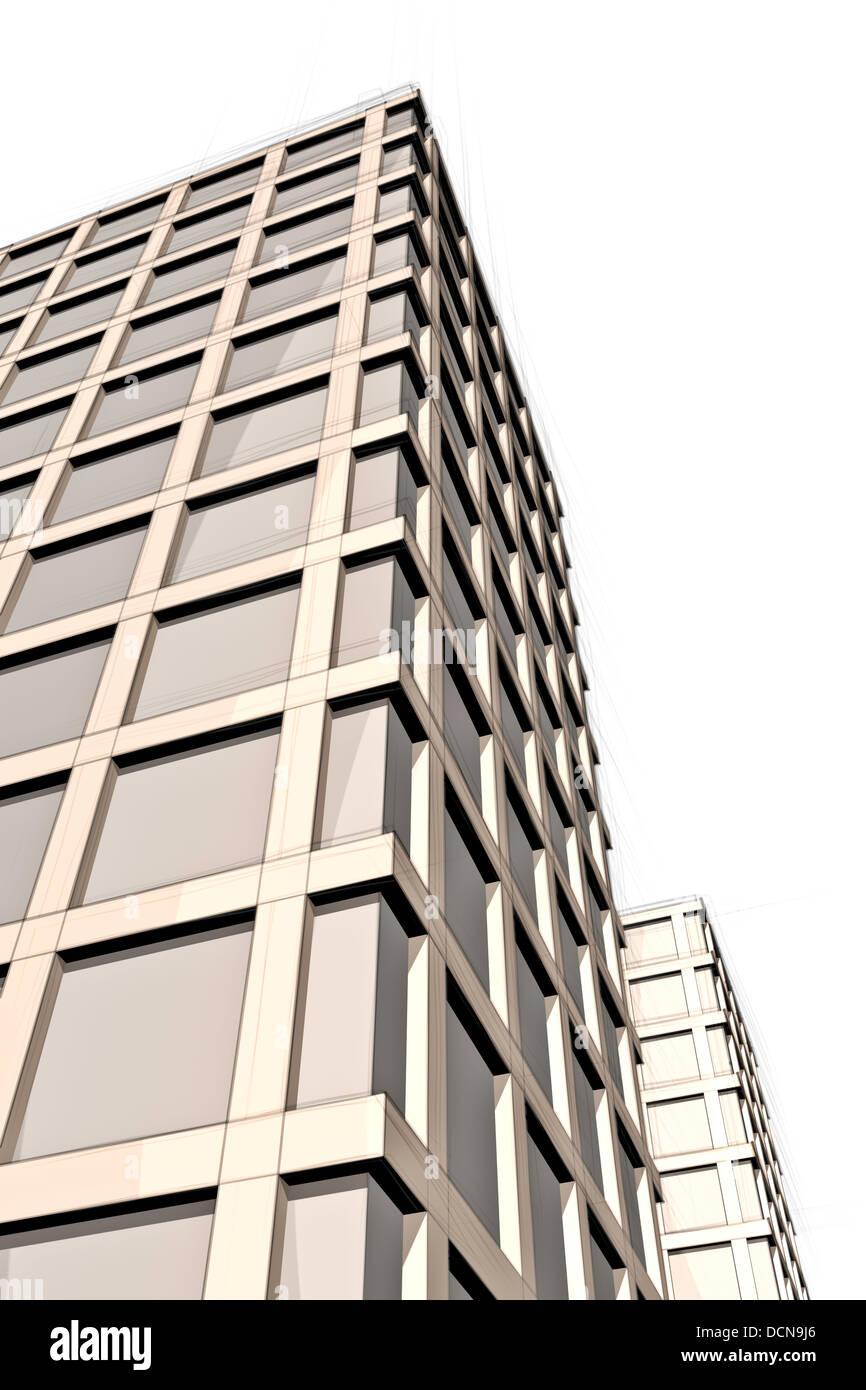 modern architecture sketch. Perfect Sketch Architecture Sketch Of Modern Building From Below And Modern Architecture Sketch S