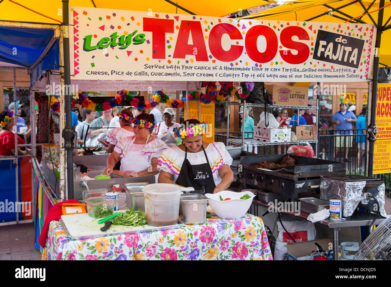 food stand in market square in san antonio texas stock photo 59482449 alamy. Black Bedroom Furniture Sets. Home Design Ideas