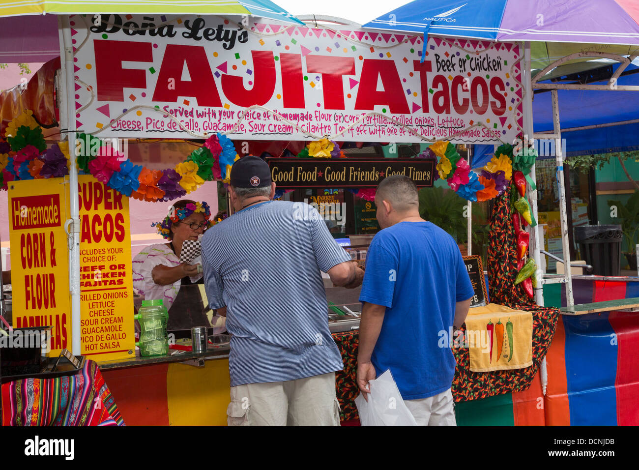 food stand in market square in san antonio texas stock photo 59482455 alamy. Black Bedroom Furniture Sets. Home Design Ideas