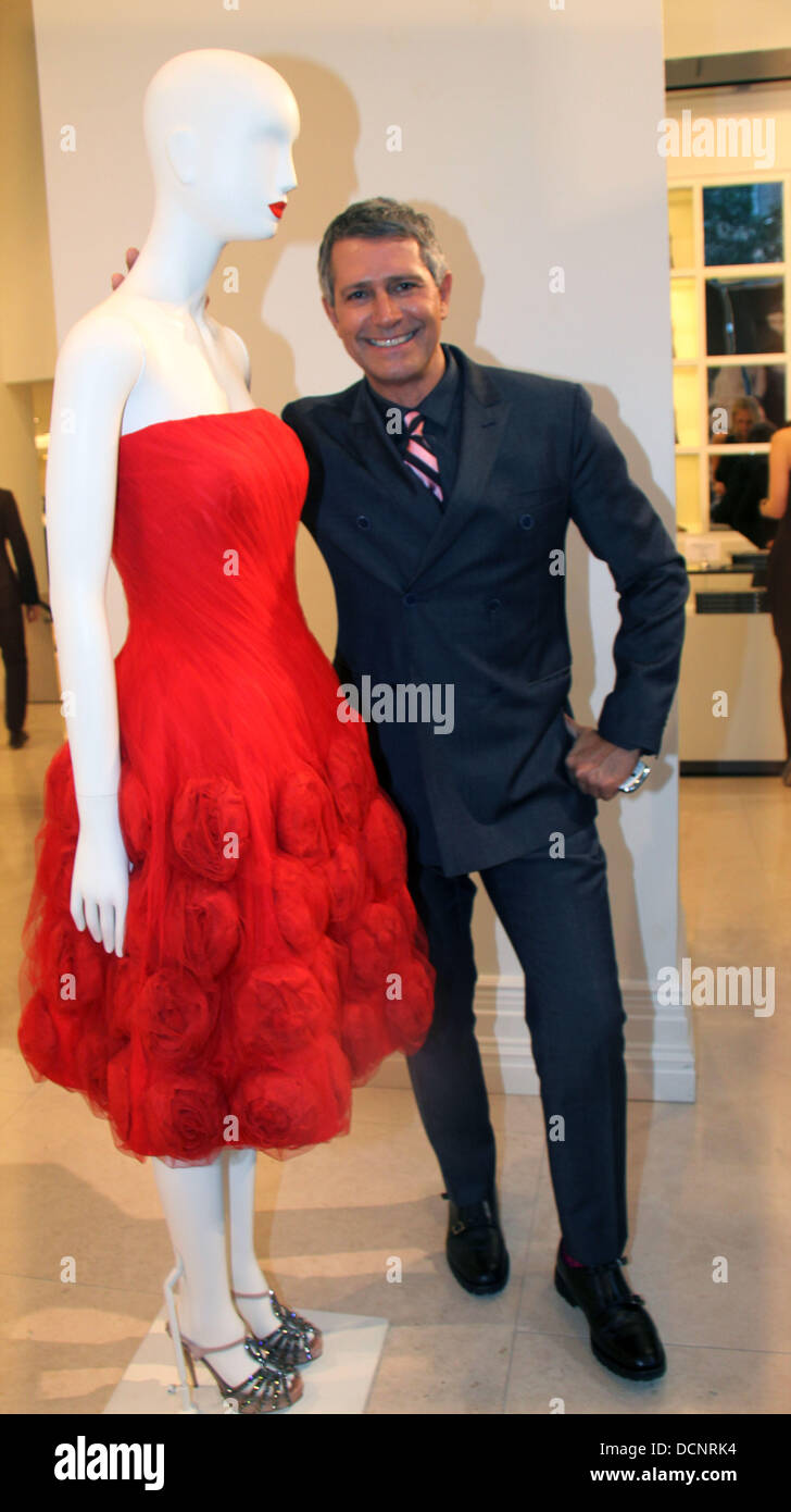 Carlos Souza The book launch of '100 Unforgettable Dresses' by Hal  Rubenstein, held