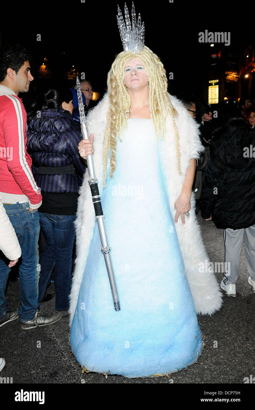 ice princess costume annual halloween on church street the block party toronto canada