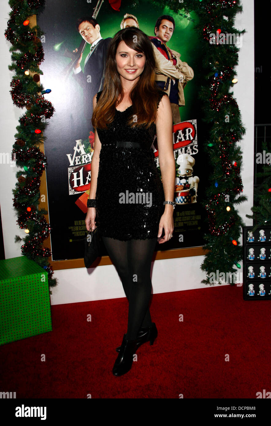A Very Harold Kumar 3d Christmas.Vanessa Britting The Premiere Of A Very Harold Kumar 3d