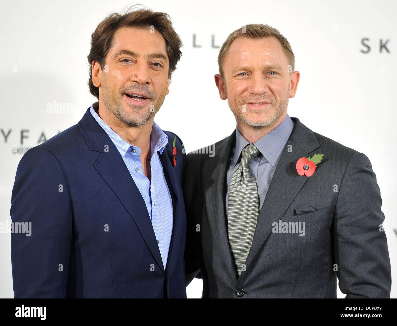 Daniel Craig, Javier Bardem 'Skyfall', The 23rd James Bond