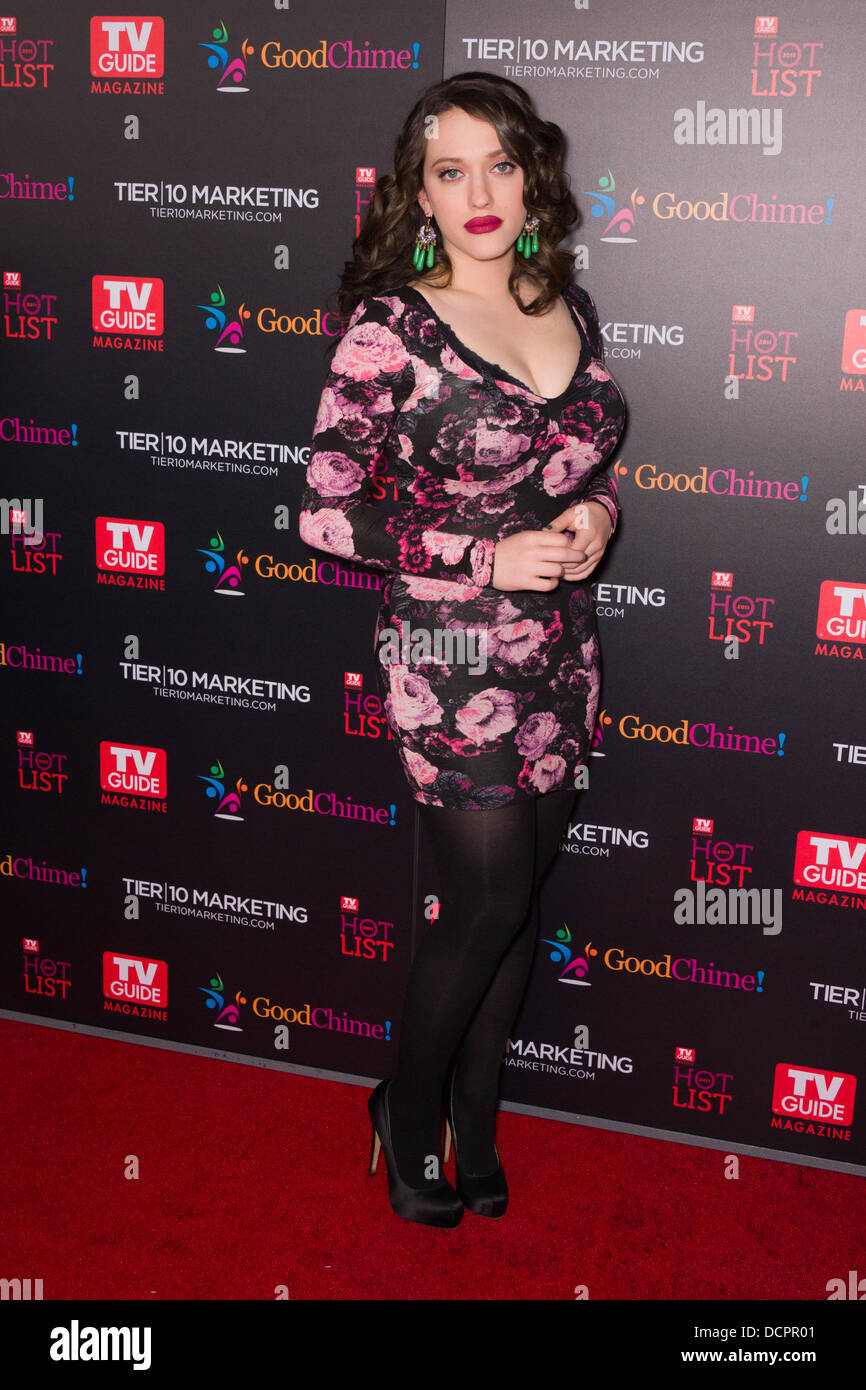 Kat Dennings TV Guide Magazine's Annual Hot List Party at