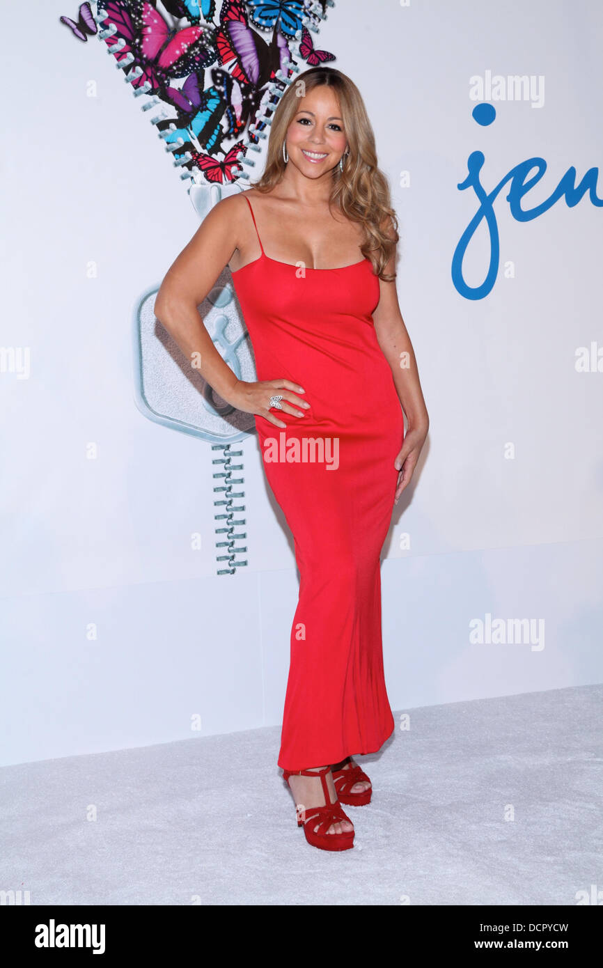 Mariah Carey Is Announced As The New Brand Ambassador For Jenny