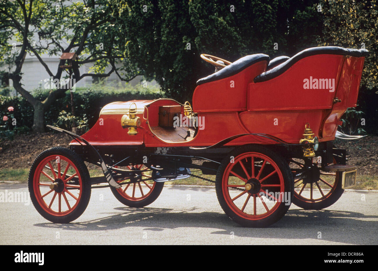 1904 FRANKLIN AIRCOOLED. Photo Nicky Wright - Stock Image