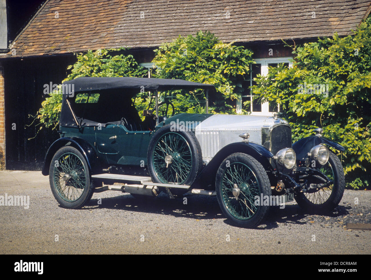 1920 VAUXHALL 30/98. Photo Nicky Wright - Stock Image