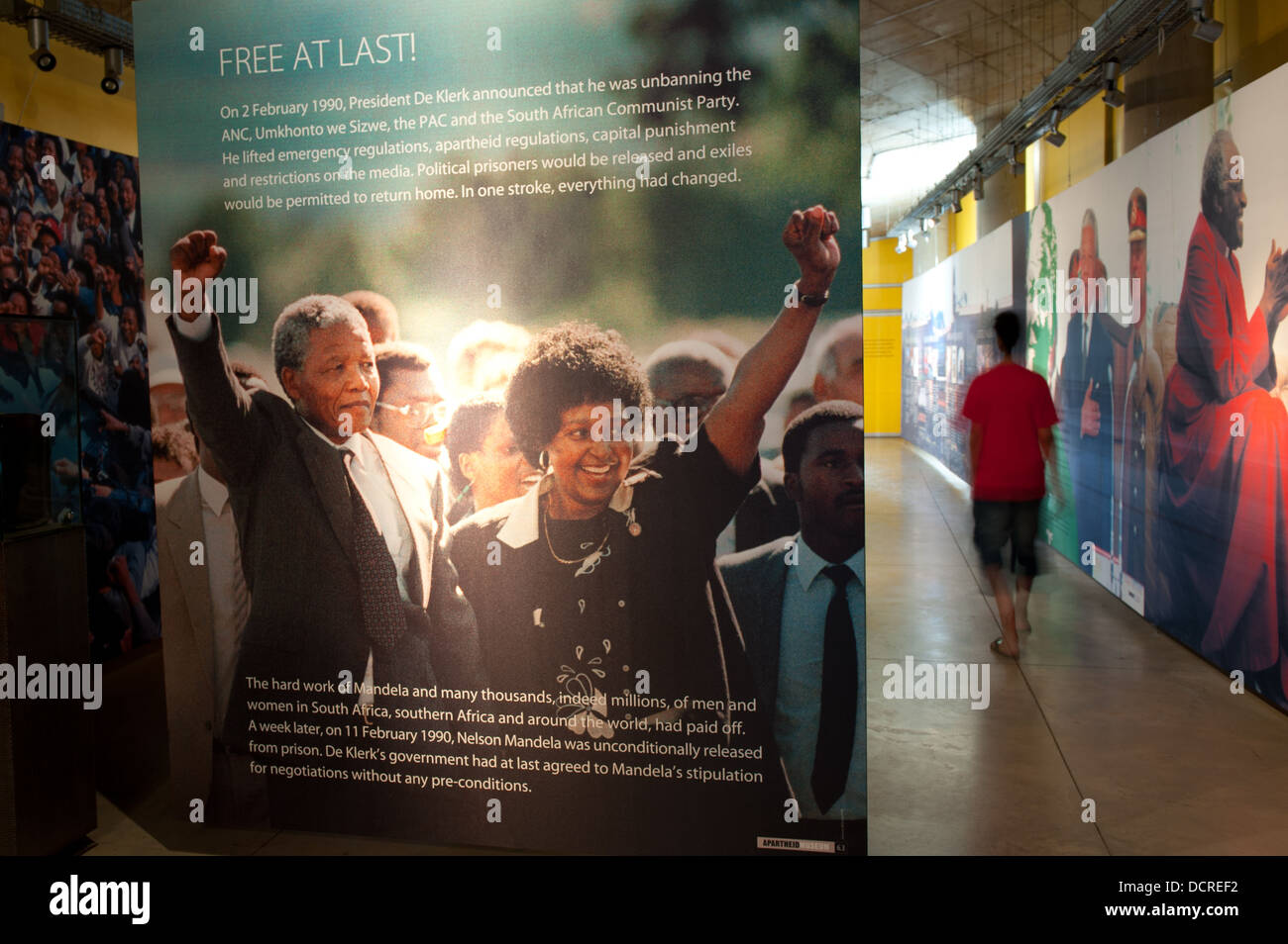 Apartheid Museum, Johannesburg, South Africa - Stock Image