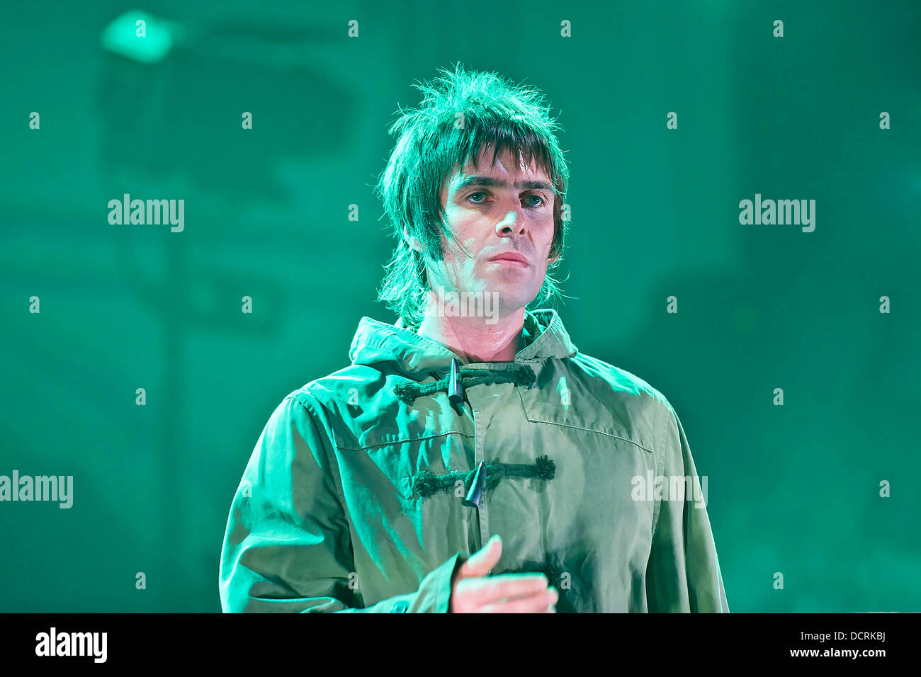 Liam Gallagher of Beady Eye performing live at Brixton Academy. London, England - 17.11.11 - Stock Image