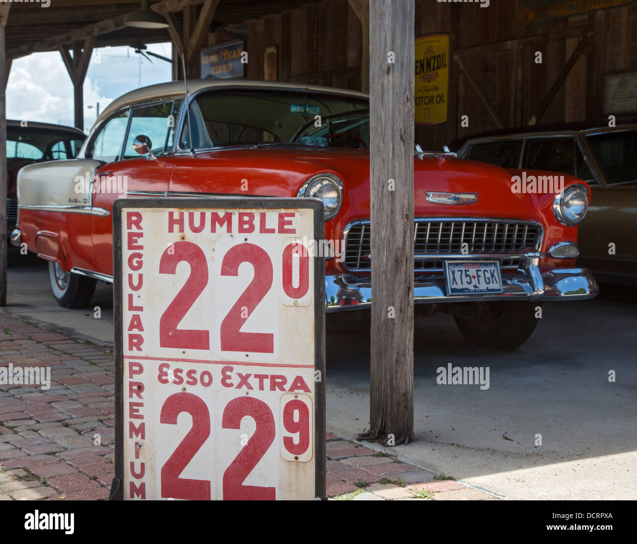 San Antonio Gas Prices >> San Antonio Texas A Chevrolet From The 1950s And A