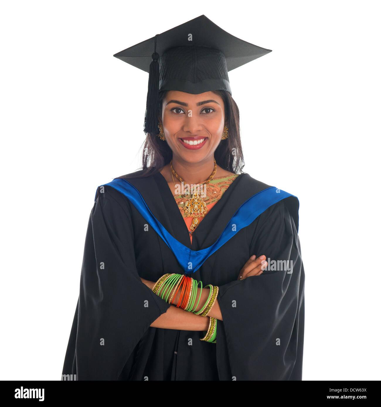 Graduation Gown India Stock Photos & Graduation Gown India Stock ...