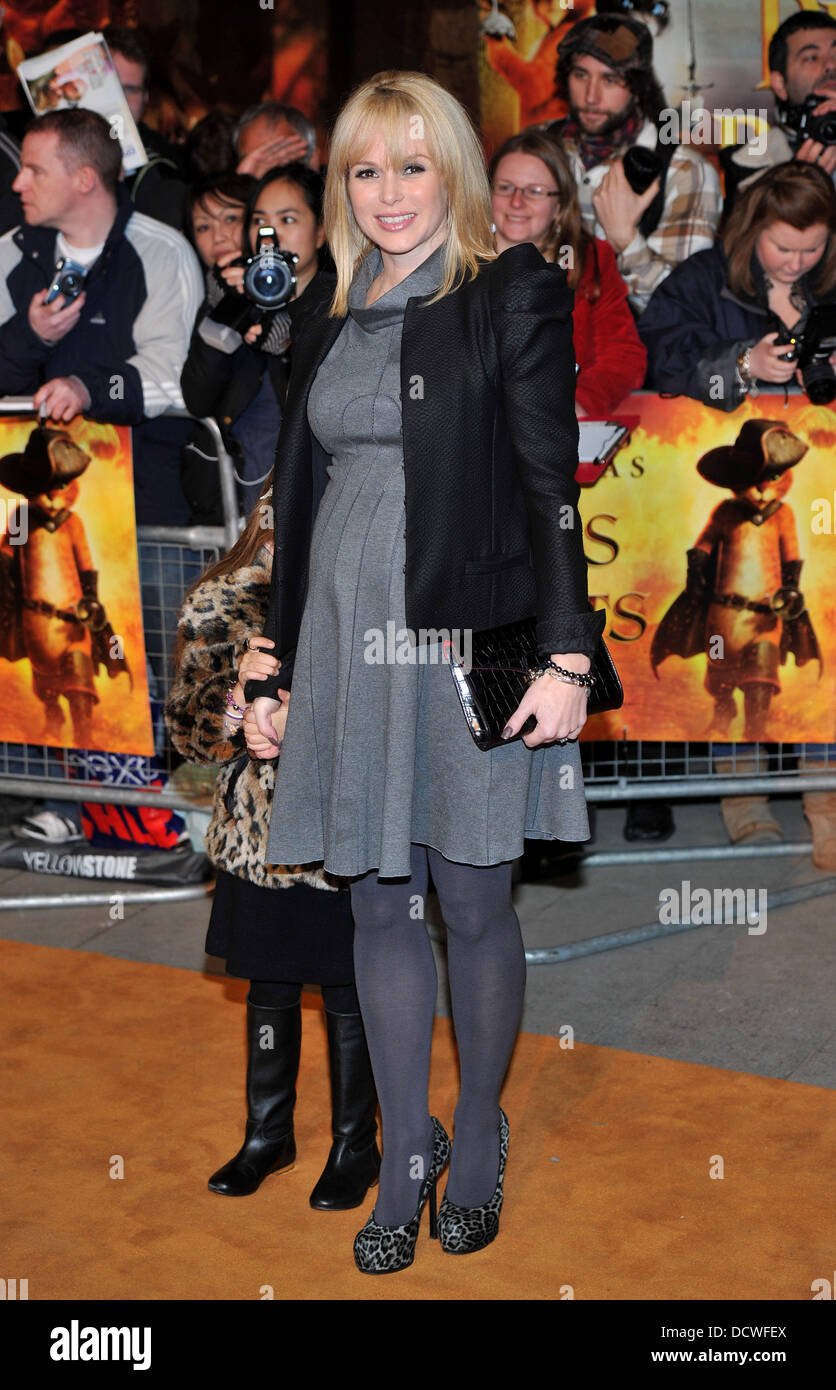 Amanda Holden Films amanda holden puss in boots - uk film premiere held at the