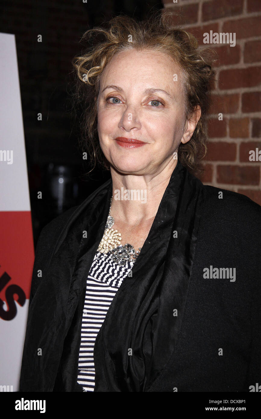 J. Smith-Cameron  Opening night after party for 'Titus Andronicus' at the Public Theater New York City, - Stock Image