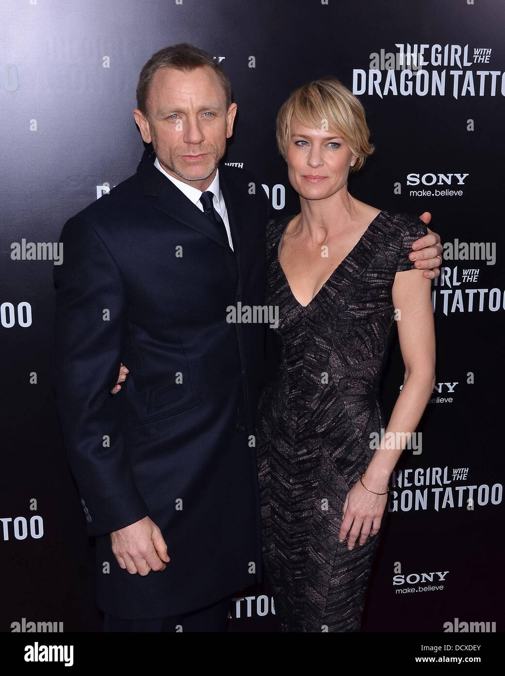 Robin Wright Girl With Dragon Tattoo Daniel Craig, R...