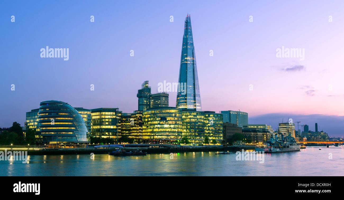 London, The Shard London Bridge - Stock Image