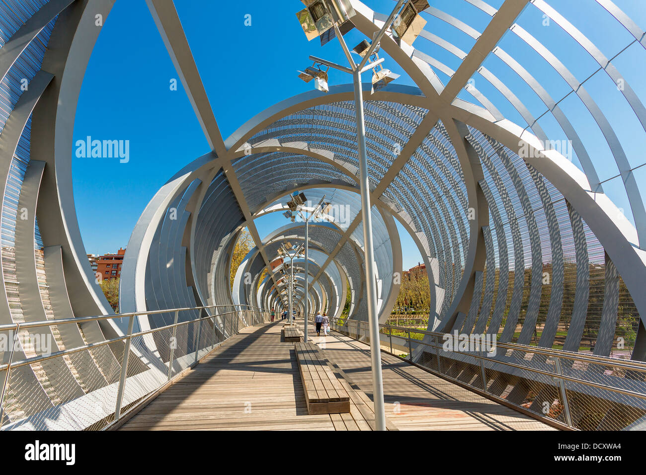 Madrid, Puente Monumental de Arganzuela - Stock Image