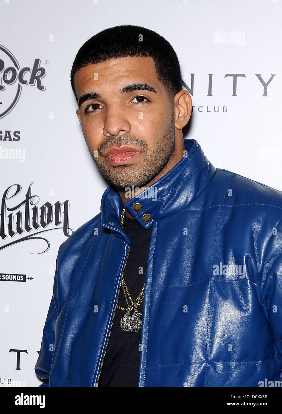 Drake  Rapper Drake hosts After Concert Party at Vanity Nightclub at Hard Rock Hotel and Casino  Las Vegas, Nevada Stock Photo