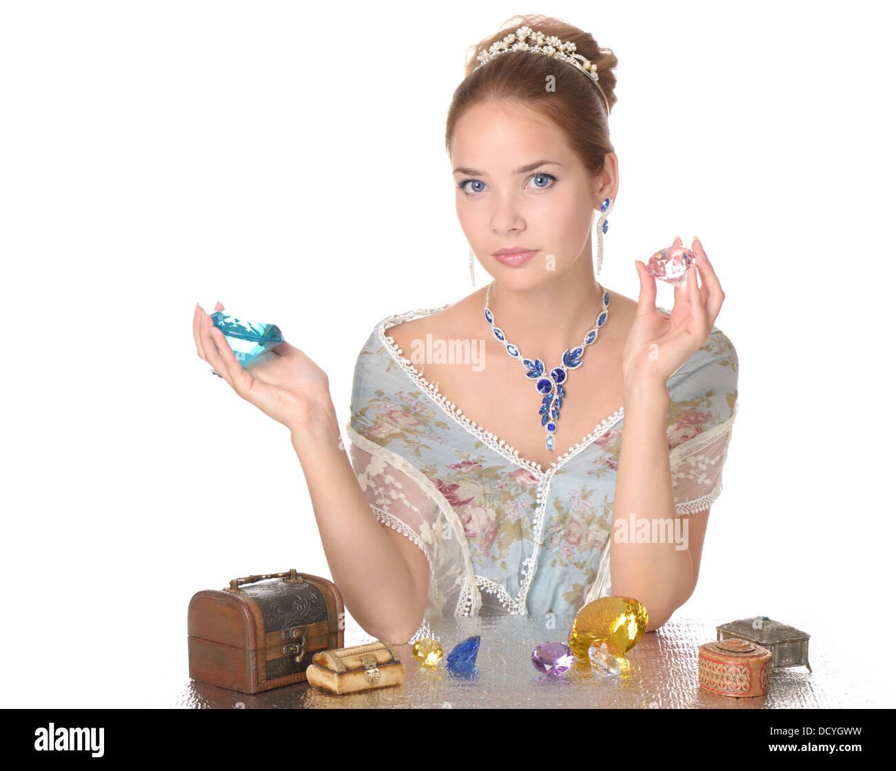 Jewels and diamonds - Stock Image